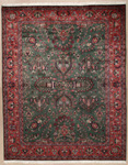 Persian Rectangular Area Rug 1163 area rugs