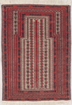 Baluchi Rectangular Area Rug 46498 area rugs
