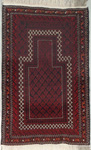 Baluchi Rectangular Area Rug 46514 area rugs