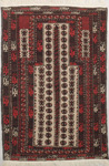 Baluchi Rectangular Area Rug 46528 area rugs
