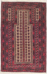 Baluchi Rectangular Area Rug 46534 area rugs