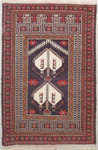 Baluchi Rectangular Area Rug 46537 area rugs