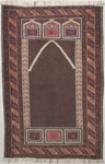 Baluchi Rectangular Area Rug 47290 area rugs