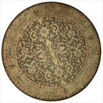 Indian Round Area Rug 63338 area rugs