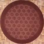 Modern Round Area Rug 63548 area rugs