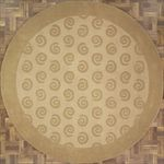Modern Round Area Rug 63554 area rugs