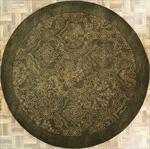 Modern Round Area Rug 63573 area rugs