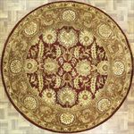Indian Round Area Rug 63581 area rugs