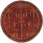 Persian Round Area Rug 63675 area rugs