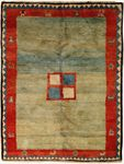 Gabbeh Rectangle Area Rug 63803 area rugs